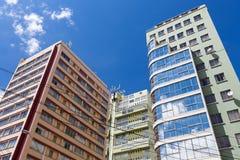 Modern buildings in La Paz in Bolivia, South America Royalty Free Stock Photo