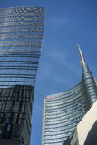 Modern buildings in Milan Royalty Free Stock Photography