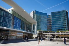 Modern buildings in Milan Stock Photography