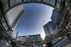 Modern buildings in Milan Stock Image