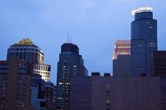 Modern Buildings in Minneapolis Stock Photos