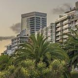 Modern Buildings in Montevideo Uruguay Stock Image