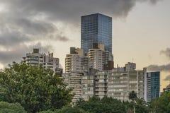 Modern Buildings in Montevideo Uruguay Stock Photography