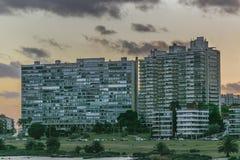 Modern Buildings in Montevideo Uruguay Stock Photo