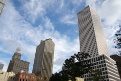 Modern buildings in New Orleans Stock Photography