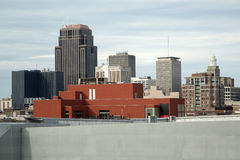 Modern buildings in New Orleans Stock Images