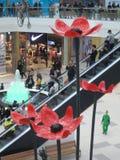 Modern buildings - new shopping center Mega Silk Way Royalty Free Stock Photo