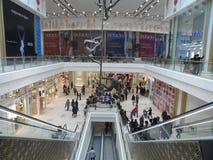 Modern buildings - new shopping center Mega Silk Way Stock Photos
