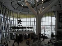 Modern buildings - new shopping center Mega Silk Way Royalty Free Stock Photography