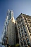 Modern buildings in New York stock image