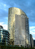 Modern buildings and offices in city Stock Images