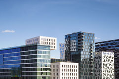 Modern Buildings in Oslo, Norway Stock Photography