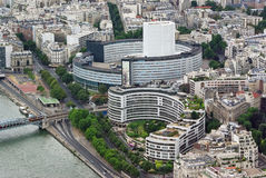 Modern buildings in Paris Royalty Free Stock Photo