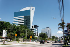 Modern Buildings in Porto Alegre Royalty Free Stock Image