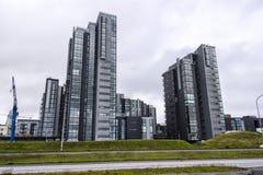 Modern buildings of Reykjavik Stock Photo