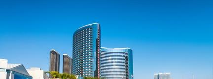 Modern buildings of San Diego skyline.  royalty free stock image