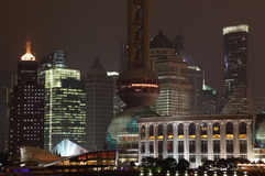 Modern buildings in Shanghai Stock Images