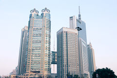 Modern buildings of shanghai Stock Photography