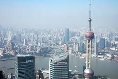Modern buildings in Shanghai Stock Image