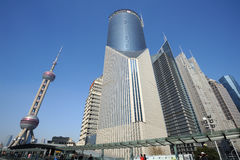 Shanghai Lujiazui business and financial center Stock Image