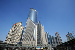 Shanghai Lujiazui business and financial center Stock Photos