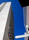 Modern buildings in Shinagawa, Tokyo Stock Photos