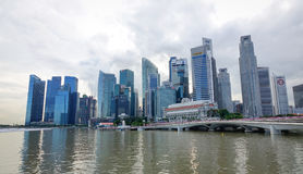 Modern buildings in Singapore Stock Image
