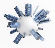Modern Buildings, Sphere Stock Photo