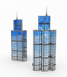 Modern Buildings, Towers Stock Photos