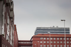Modern buildings with windows Royalty Free Stock Image