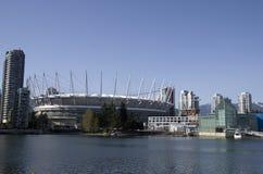 Modern buildings Vancouver Stock Photos