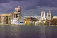 Modern buildings, Yekaterinburg, Russia Stock Image