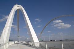 Modern buildingThe Margaret Mc-bermott Bridge Dallas Royalty Free Stock Photo