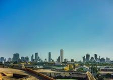 Modern Buildins In Cartagena Colombia Stock Photos