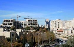 Modern built Jerusalem Royalty Free Stock Photos
