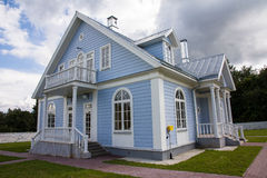 Modern buitenhuis Royalty-vrije Stock Fotografie