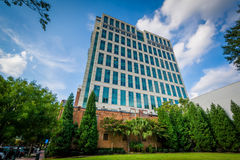 Modern buldings in downtown Columbia, South Carolina. Stock Photography