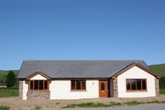 modern bungalow Royaltyfri Foto