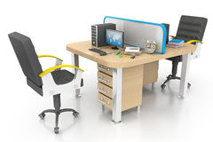 Modern bureau Stock Fotografie