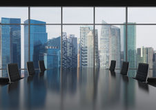 Modern bureau Royalty-vrije Stock Afbeelding