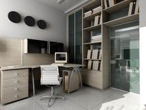 Modern bureau in Verdesd Royalty-vrije Stock Foto's
