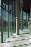 Modern bureaupark Royalty-vrije Stock Foto's