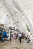 Modern Bus station Gare Routiere in Aix en Provence Royalty Free Stock Image