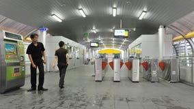 Modern Bus Station royalty free stock photos