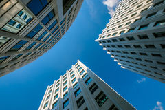Modern business architectural background Royalty Free Stock Image