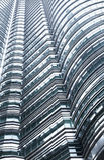 Modern business architecture in Kuala Lumpur Stock Image