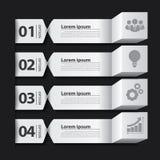Modern Business Banner Box Infographic