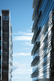 Modern business building Stock Photos