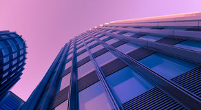 Modern business building with reflection Stock Photo