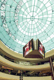 Modern business building roof, interior of modern commercial shopping mall Royalty Free Stock Photography